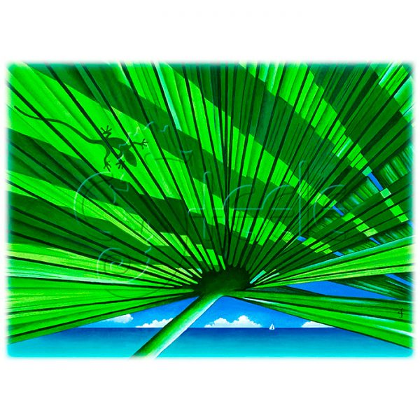 Fair Weather Fronds by Carolyn Steele