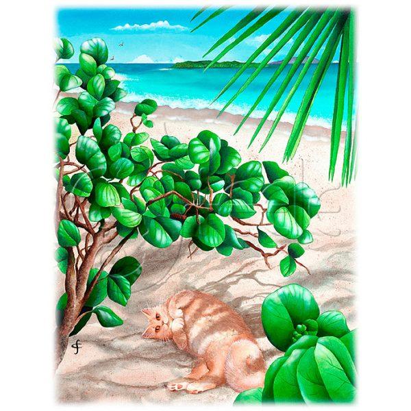 Jumby's Beach by Carolyn Steele