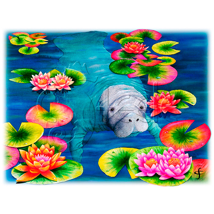 Manatee's High Tea by Carolyn Steele