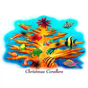 Christmas Corallers by Carolyn Steele