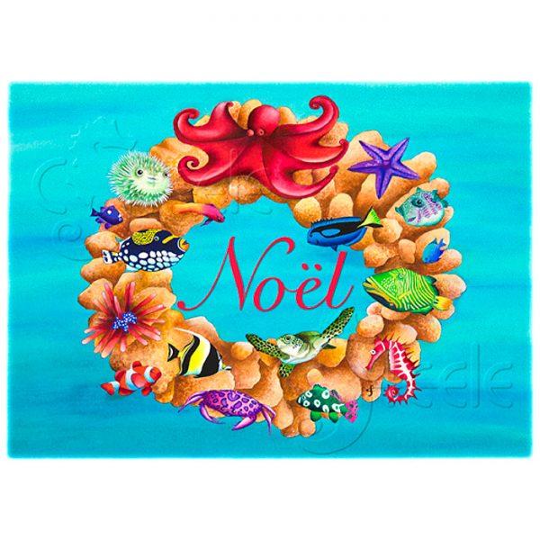 Coral Wreath by Carolyn Steele