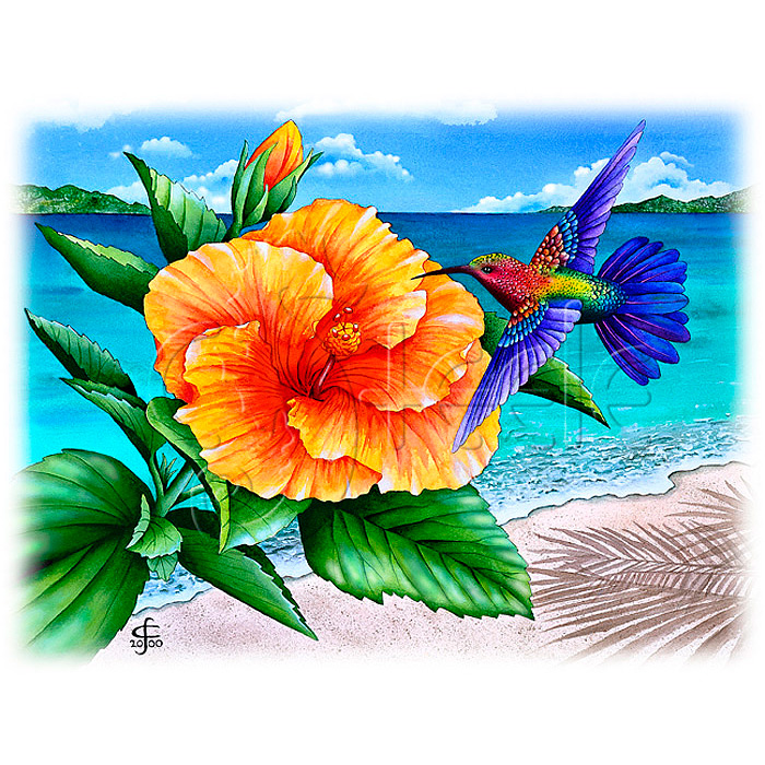 Beauty And The Beach by Carolyn Steele