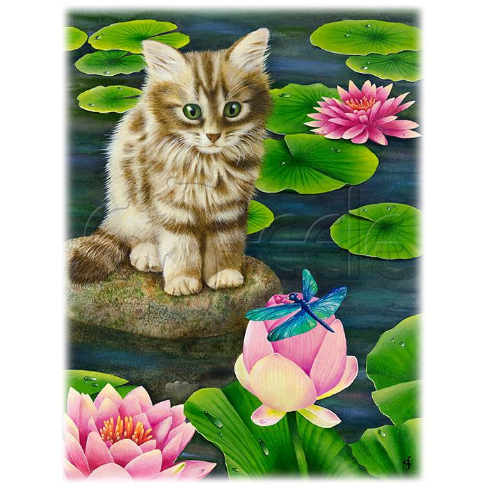 Lily's Pond by Carolyn Steele