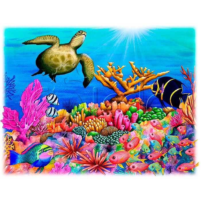 Reef Revelers by Carolyn Steele